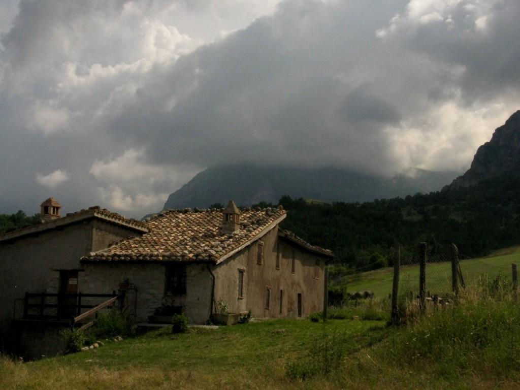 Old house. Sibillini Mountains, Italy. Photo by Steve Peterson
